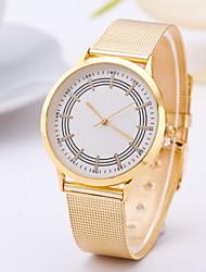 Women's Fashion Watch Casual Watch Quartz Alloy Band Yellow