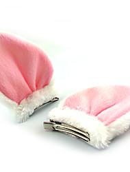 Acessórios Lolita Doce Decoração de Cabelo Princesa Preto Branco Acessórios Lolita Decoração de Cabelo Patchwork Para Malha polar