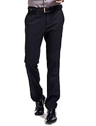 Lesmart Da uomo Dritto / Tuta Pantaloni Nero - LW13434