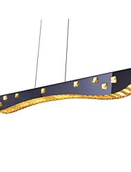 36W Подвесные лампы ,  Современный Хром Особенность for Хрусталь Металл Гостиная / Столовая