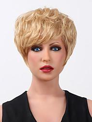 15 couleurs de nouveaux courts blonds ondulés mélange résistant à la chaleur des femmes à choisir