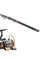 Vara de Pesca Telespin / Varas + Molinetes de Pesca / Cana de pesca Vara de Pesca Telespin Carbono 300 M Pesca de MarVaras + Molinetes de