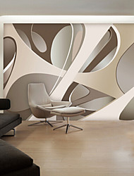 Modern Shinny Leather Effect Large Mural Wallpaper Abstract Graphics Art Wall Decor Background Wall Paper