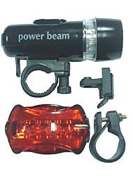 Luzes de Bicicleta / Luz Frontal para Bicicleta / Luz Traseira Para Bicicleta LED - Ciclismo Fácil de Transportar AAA 100 Lumens Bateria