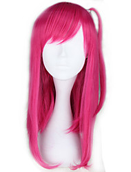 Cosplay Wigs MAGI Cosplay Pink Medium Anime Cosplay Wigs 53 CM Heat Resistant Fiber Female