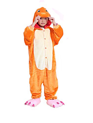 nuevos niños de franela charmander cosplay® Kigurumi pijama (sin zapatos)
