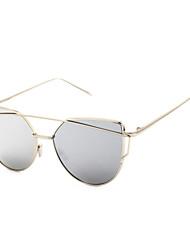 Sunglasses Unisex's Classic Anti-Reflective Hiking Silver Sunglasses Full-Rim