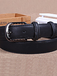 Women Leather Fashion Korean style Wide Belt,Vintage / Cute / Party / Casual Alloy