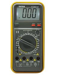 vc9801a Taitan + 200m (w) 1000 (V) 20 (a) professinal multímetros digitais