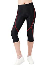Wosawe® Cuissard Rembourré de Cyclisme Femme / UnisexeRespirable / Séchage rapide / Design Anatomique / La peau 3 densités / Antidérapage