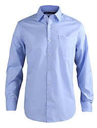 JamesEarl Herren Hemdkragen Lange Ärmel Shirt & Bluse Hellblau-MC1ZC000605