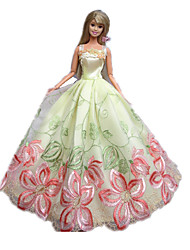 Princesse Robes Pour Poupée Barbie Noir / Rose Robes Pour Fille de Doll Toy