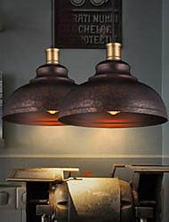 Simple Retro Creative Restaurant Single Head Iron Staircase Chandelier Jane European American Industrial