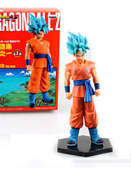Collections Anime Figure Toy Dragon Ball Z Super Goku Figurine Statues 17cm