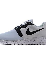 Sapatos Interior Feminino Preto / Branco / Preto e Branco Tecido