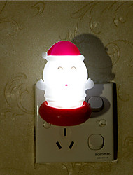 Creative Warm White Santa Claus Relating to Baby Sleep Night Light