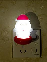 творческие теплый белый Санта-Клауса, связанные с детской ночной свет сна