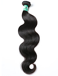 "1 Pc /Lot 12""-30"" Brazilian Virgin Hair Body Wave Human Hair Extensions 100% Unprocessed Brazilian Remy Hair Weaves"