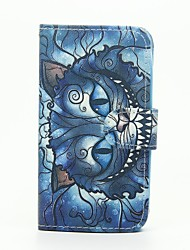 For Wiko Case with Stand / Flip / Pattern Case Full Body Case Cat Hard PU Leather Wiko