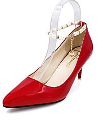 Women's Shoes Stiletto Heel Heels / Pointed Toe Heels Wedding High-heel Shoes Red