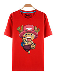 Ispirato da One Piece Tony Tony Chopper Anime Costumi Cosplay Cosplay T-shirt Con stampe Manica corta Top Per Unisex