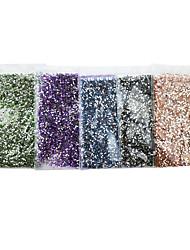 belle 1.5mm acrylique clou rond bijoux (10000pcs)