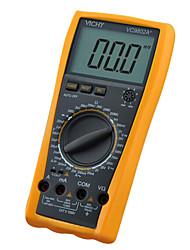 vichy vc9802a + 200m (co) 1000 (v) 20 (a) professinal multimètres numériques