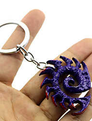 Cosplay Accessories Inspired by Cosplay Cosplay Anime/ Video Games Cosplay Accessories Keychain Purple / Silver Alloy Male / Female