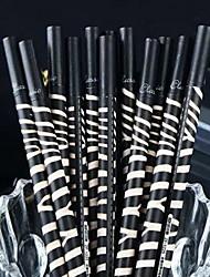 Zebrakorn schwarzer Tinte Gelstift (1 PC)