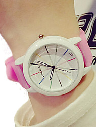 Unisex watches Simple fashion children watch Candy-colored Silica gel watch woman watch quartz Wristwatch montre femme Cool Watches Unique Watches