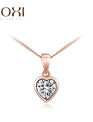 ROXI Golden Heart  Pendant Necklace Jewelry