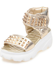 Women's Shoes  Platform Platform / Slingback / Creepers / Open Toe Sandals Outdoor / Dress / Casual Silver / Gold