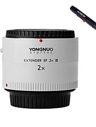 yongnuo® yn-2.0x iii pro 2x extender téléconvertisseur auto focus lentille pour canon eos ef de la lentille de la caméra de montage
