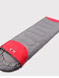 Sleeping Bag Rectangular Bag Single 15°C Down 220X75 Hiking / Camping Moistureproof/ Windproof / KEEP WARM