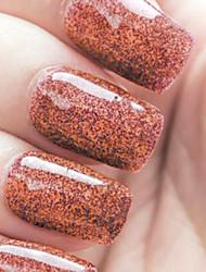 Ekbas Environmentally Safe Sugar Gum Dark Red 16ML Glitters Nail Polish