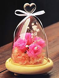 Европейский стиль стекла для украшения дома 1шт / комплекта (вазы только без цветка)