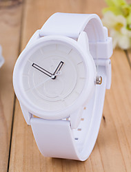 Women's European Style Fashion Mix and Match Hit Color Fashion Multicolor Silicone Wrist Watch Cool Watches Unique Watches Strap Watch
