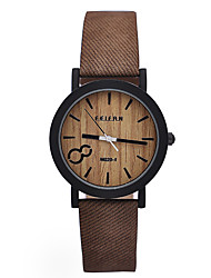 Unisex Watches Wood Watch Vintage Women's Watches Analog Men's Business Casual Quartz Watch,Gift idea Cool Watches Unique Watches