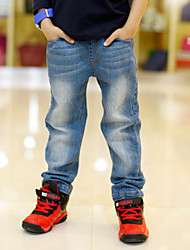Kids 2016 Fashion Clothes Boys Jeans For Children Slim Casual Pants