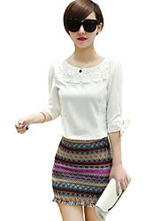Women's Print Purple Skirts,Casual / Day Mini