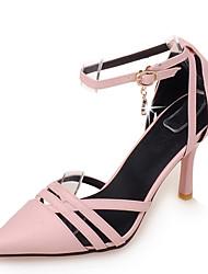 Chaussures Femme-Bureau & Travail / Habillé-Noir / Rose / Beige-Talon Aiguille-Talons / D'Orsay & Deux Pièces / Bout Pointu-Talons-
