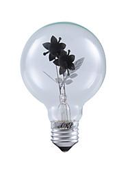 1 шт. YouOKLight E26/E27 3W / COB 220 lm Тёплый белый B edison Винтаж Круглые LED лампы AC 220-240 V