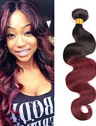 Hot Sale 1Bundles Brazilian Virgin Hair Body Wave Ombre Color Unprocessed Human Hair Weaves