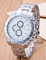 Men's European Style Fashion Formal Business Quartz Wrist Watch Cool Watch Unique Watch