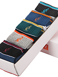 L'ALPINA® Men's Solid Color Medium 5/box Socks-31136