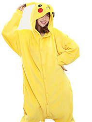 Kigurumi Pijamas nueva Cosplay® Pika Pika Leotardo/Pijama Mono Festival/Celebración Ropa de Noche de los Animales Halloween Amarillo