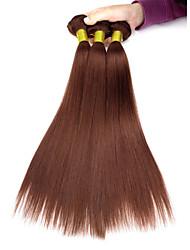 3pcs / lot 113g / pcs 12-18 '' 7a 100% cheveux humains brésiliens vierges tisse la trame des paquets de cheveux, yaki, cheveux naturels et colorés