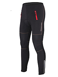 GETMOVING Cycling Pants Unisex Bike Pants/Trousers/Overtrousers Tights BottomsWaterproof Breathable Thermal / Warm Windproof Anatomic