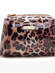 Women PVC Casual Cosmetic Bag-Animal Print