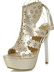 Women's Shoes Stiletto Heel Heels / Peep Toe / Platform / Slingback / Gladiator Sandals Party & Evening / Dress / Casual